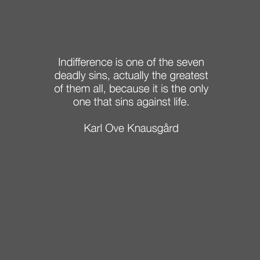 Karl Ove Knausgard 3